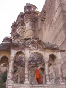 moi, yoga pose, Jodhpur