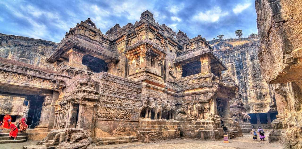 Kailash Temple, Ellora Caves, India