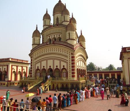 Dakshineshwar Temple, Kolkata.