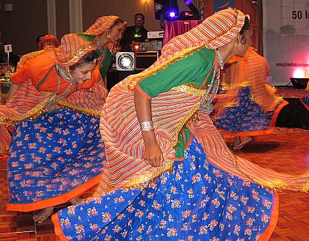 Vibhava Tripathi and I at IndiaTourism event