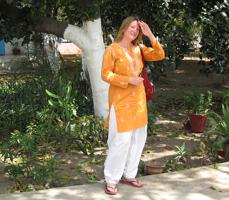 Me, at Aurovalley Ashram, India, 2010