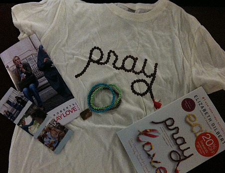 Eat, Pray, Love contest winners