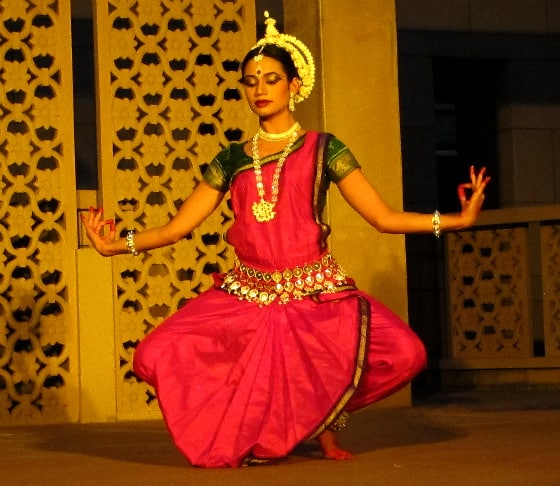 Odissi dancer Shalini Patnaik at Ravi Shankar Centre, Delhi, India