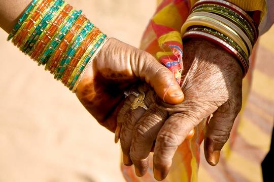 women in Jaipur, Rajasthan, India