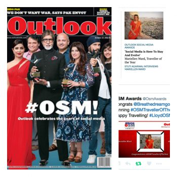 Amitabh Bachchan, Shashi Tharoor, The Big B, Lloyd OSM Awards, Outllok