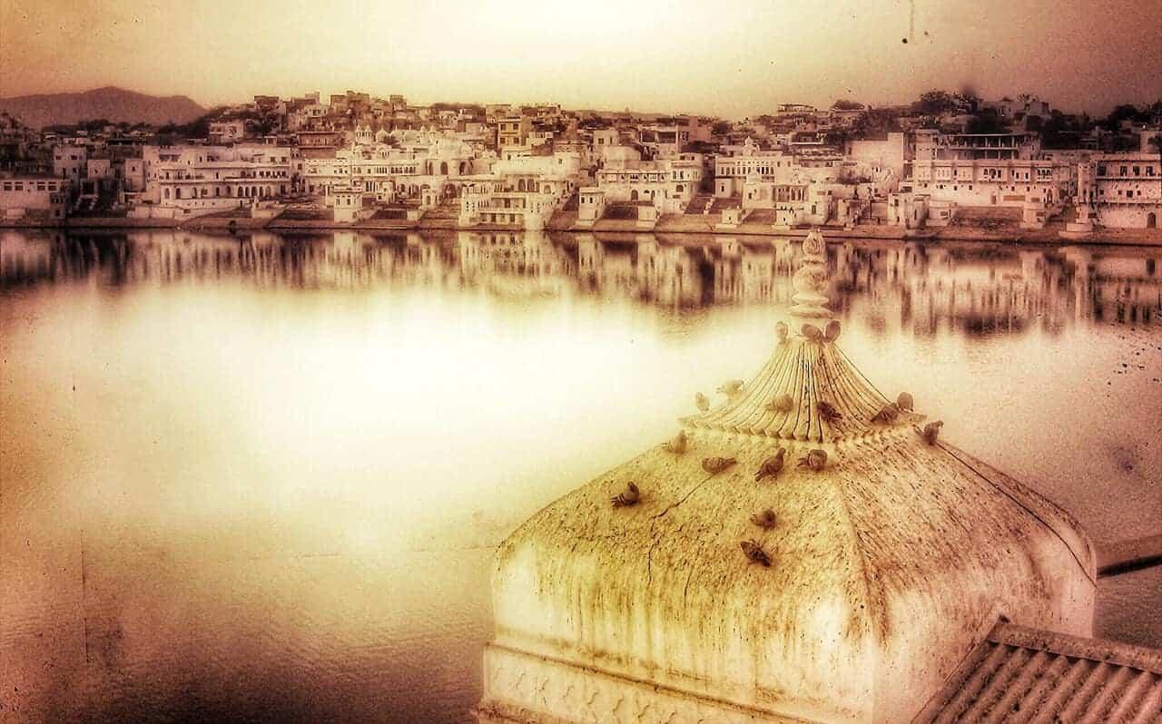 Pushkar scene