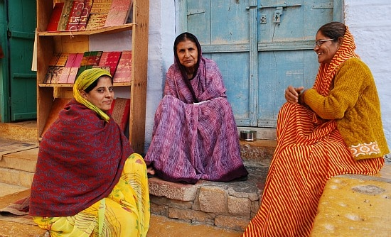 Women in Jaisalmer, Rajasthan, India