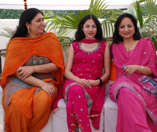 Women in Delhi, India wearing Indian clothes