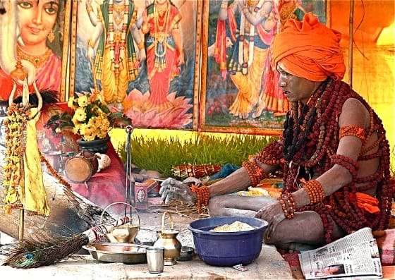 Photo Naga Sahdu, Kumbh Mela, Haridwar India 2010, photography