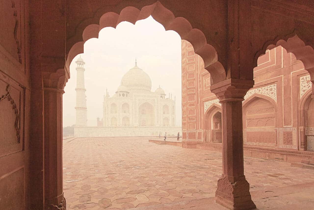Taj Mahal is one of the top reasons to visit India