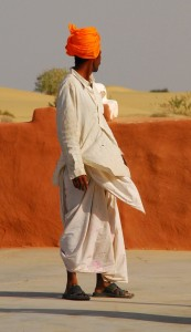 Camel Driver Lal Singh in Jaisalmer, India