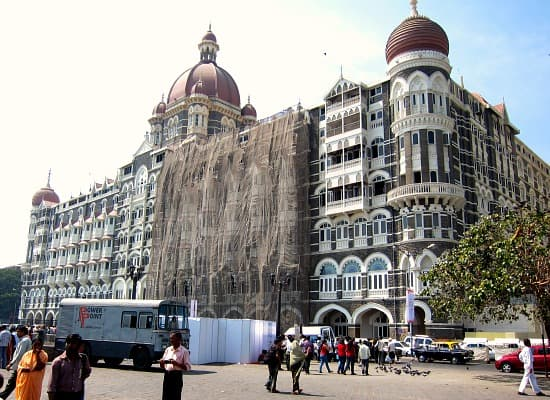 Taj Mahal Palace Hotel, Mumbai, Bombay, India