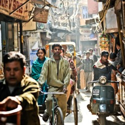 Photograph of street in India courtesy Bruce Granofsky