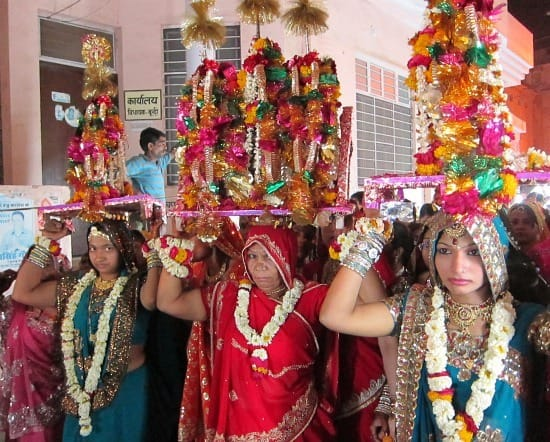 Photograph of Gangor Festival, Bundi, Rajasthan, India