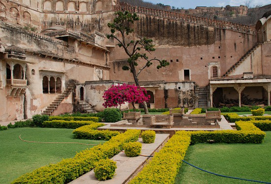 Photograph of Bundi's Garh Palace, Bundi, Rajasthan, India