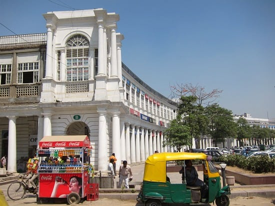 Photograph of Connaught Place, Delhi, India