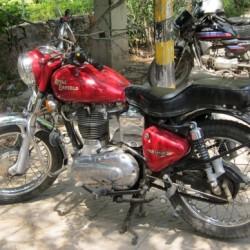 Royal Enfield motorcycle, Delhi