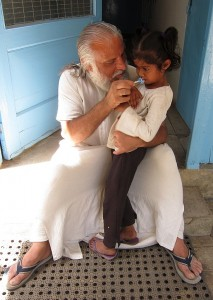 Photograph of Adopt a Soul program at Aurovalley Ashram - school for disadvantaged kids in India
