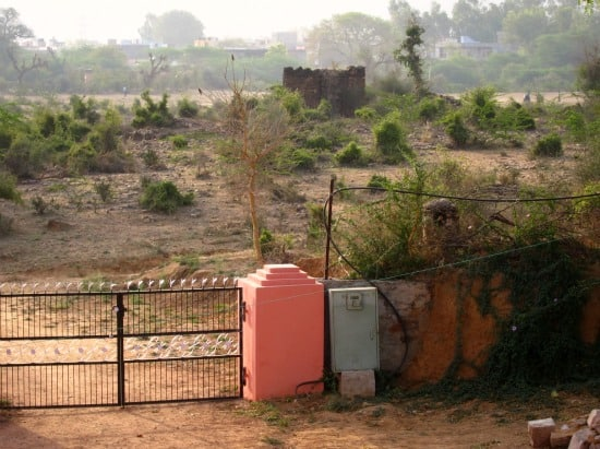 Photograph of rural countryside near Ranthambhore tiger reserve and park, Rajasthan, India