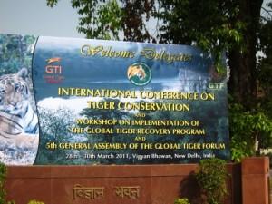 Tiger Conference 2011, Census, Delhi, India