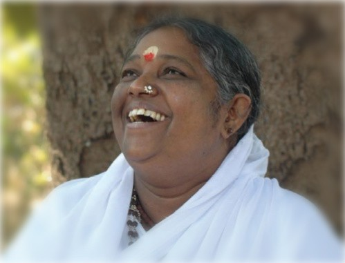 Photograph of Sri Mata Amritanandamaya Devi, Amma, The Hugging Saint of India