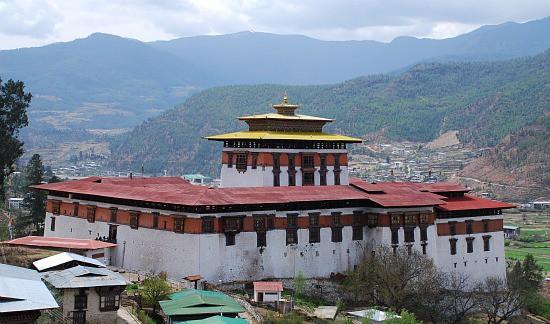 Photograph of Paro Dzong, Paro, Bhutan