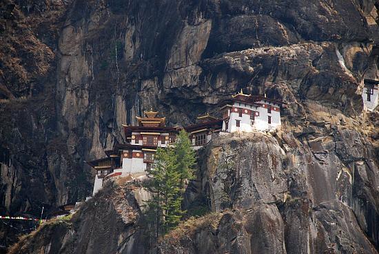 Photograph of Taktshang (Tiger's Nest) Monastery, Paro, Bhutan