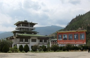 Photograph of Paro International Airport, Bhutan
