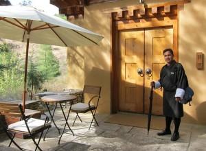 Photograph of COMO Uma Paro boutique five-star hotel, Paro, Bhutan