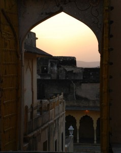 Photograph of door at Roopanghar Fort, Rajasthan, India