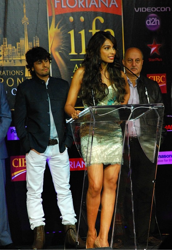 Photograph of Bollywood stars in Toronto for IIFA Bipasha Basu