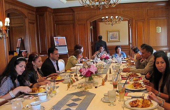 Photograph of India lunch during IIFA at the Fairmont Royal York Hotel