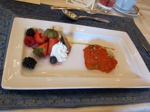 "Photograph of Gajjar Halwa, dessert served during lunch at the Fairmont Royal ""Raja"" York Hotel during IIFA"