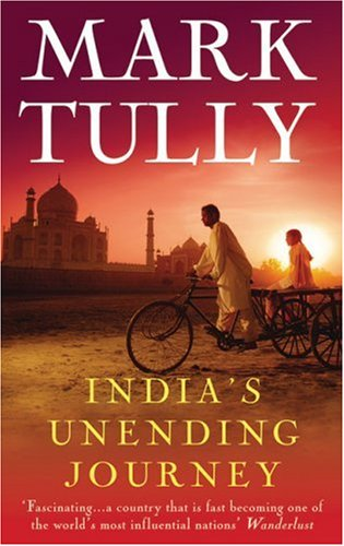 Photograph of book India's Unending Journey by Mark Tully