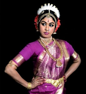 Photograph of Kuchipudi dancer Shobha Kormabil