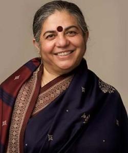 Photograph of Dr. Vanadana Shiva