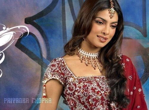 Photograph of Bollywood star Priyanka Chopra