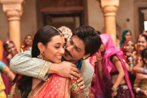 Shahrukh Khan and Rani Mukherji in Paheli