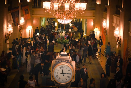 Photograph of Fairmont Royal York Hotel lobby during IIFA Awards