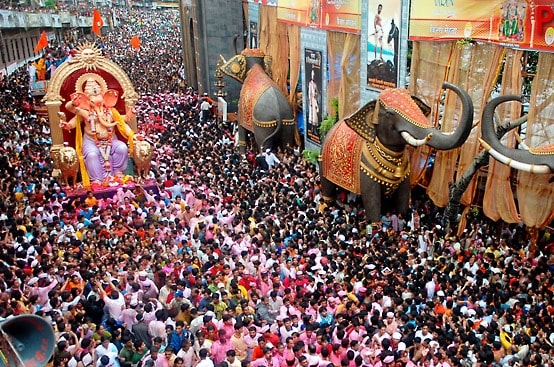 Top Indian Festivals include Ganesh Chaturthi