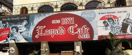 Photograph of Leopold Cafe, Mumbai