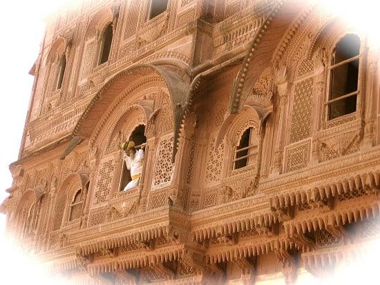 Photograph of Jodhpur Fort, Rajasthan, India