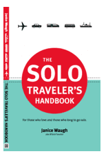Photograph of The Solo Traveler's Handboook by Janice Waugh