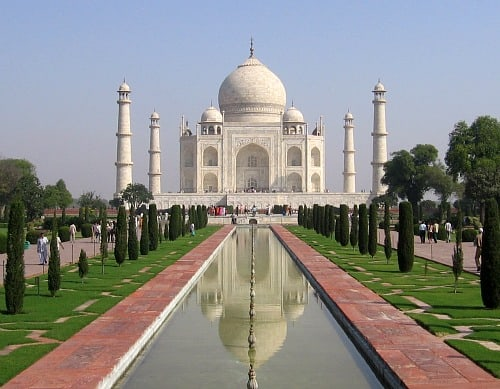 Photograph of Taj Mahal, India