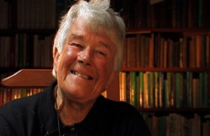 Author and travel book writer Dervla Murphy