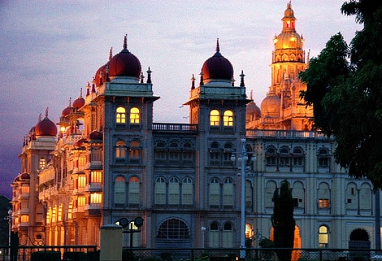 Photograph of Mysore Palace