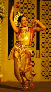 Photograph of Indian dancer