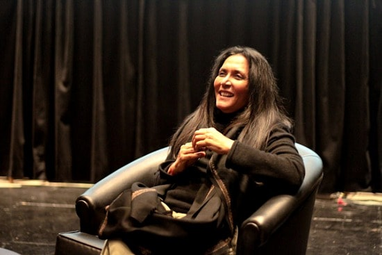 Deepa Mehta at the University of Toronto, photo by Katie Billo
