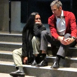 Deepa Mehta and Charlie Kiel