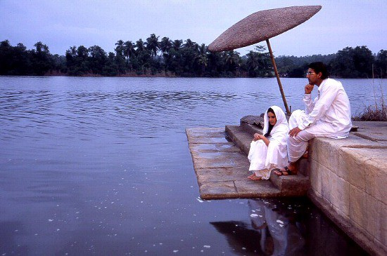 Scene from the film Water, directed by Deepa Mehta and shot in Sri Lanka